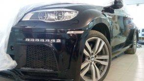 Установка обвеса Hamann EVO M на BMW X6